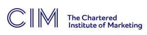 Membership of CIM The Chartered Institute of Marketing logo