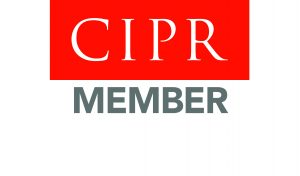 Membership of CIM The Chartered Institute of Public Relations logo